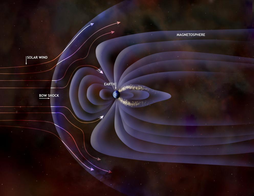 Последние данные спутников ESA: магнитное поле планеты ослабевает.
