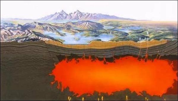 Методы прогнозирования извержения вулканов говорят о пробуждении вулканов Йелоустоун и Айра