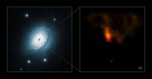 Таинство зарождения новой планеты в нашей галактике