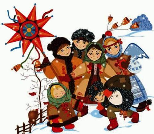 Славяне и обычаи празднования Рождества