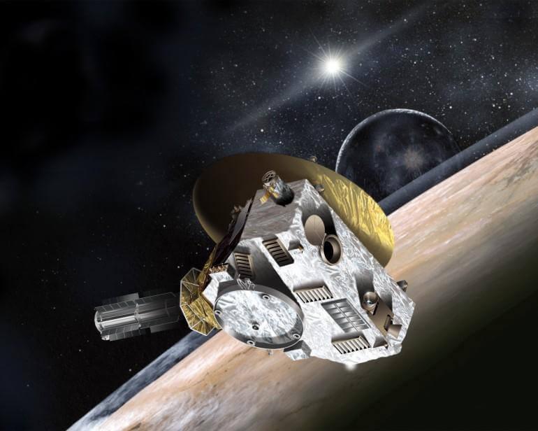 Автоматическая межпланетная станция New Horizons начала наблюдения за Плутоном