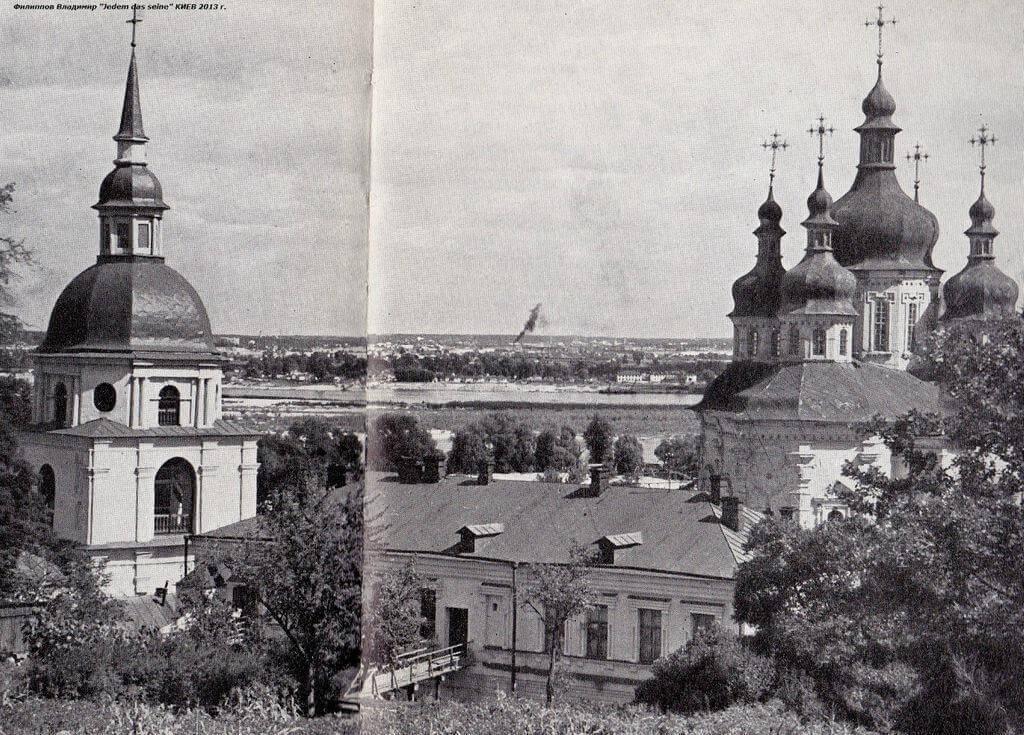 История и знаки Выдубицкого монастыря