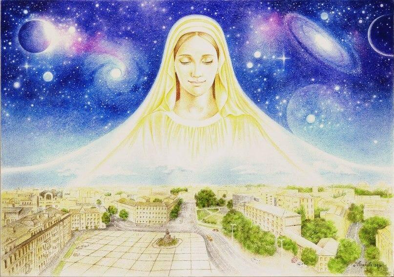 Мария Оранта – утраченный символ народа
