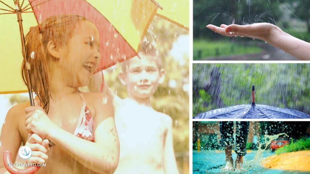 А в Киеве дождь с градом вернул улыбки и радость людям