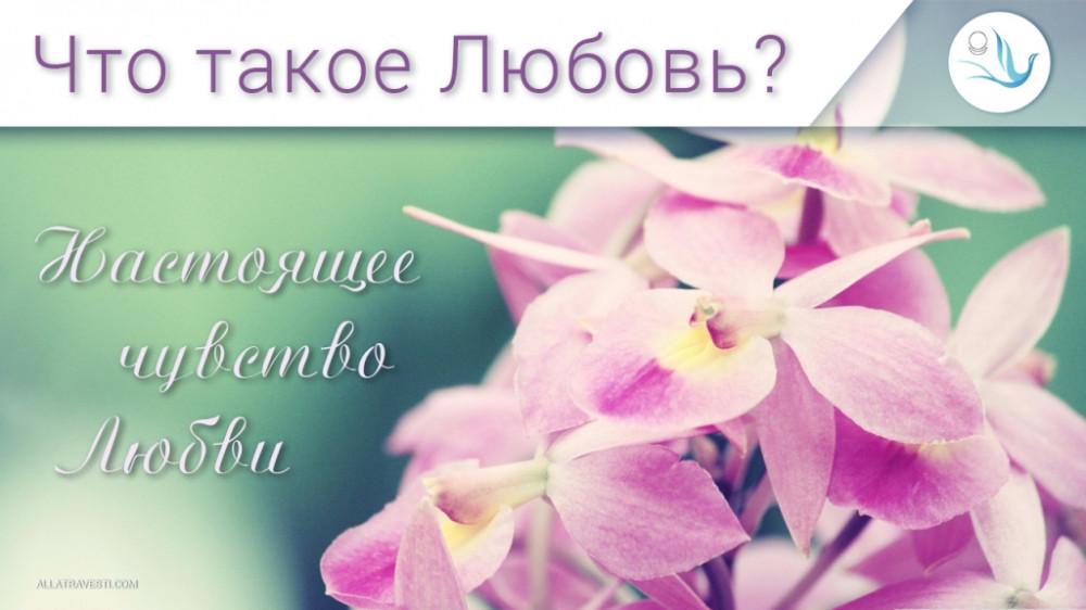 Что такое Любовь? Настоящее чувство Любви