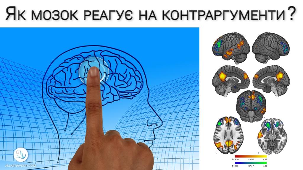 Як мозок реагує на контраргументи?
