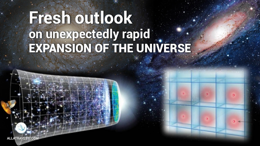 Fresh outlook on unexpectedly rapid expansion of the Universe