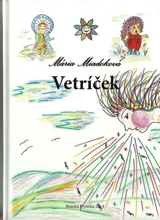 """У Словаччині вийшла дитяча книга з творчими знаками """"Вітерець"""""""