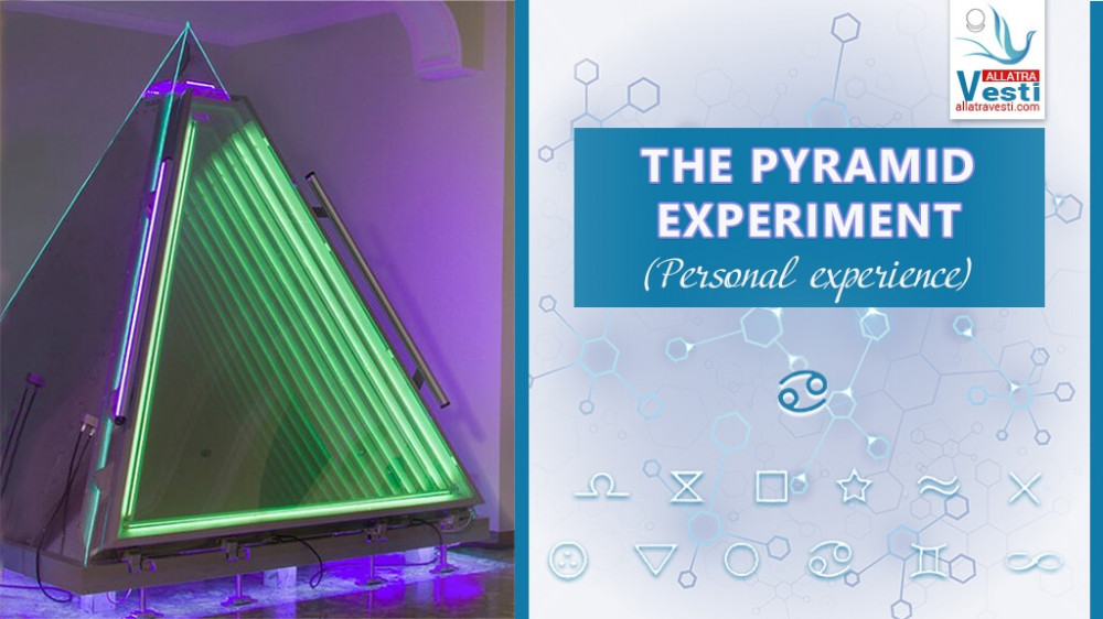 The Pyramid experiment. Personal experience