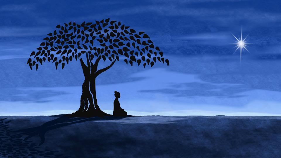 Началось всё с опоздания на медитацию