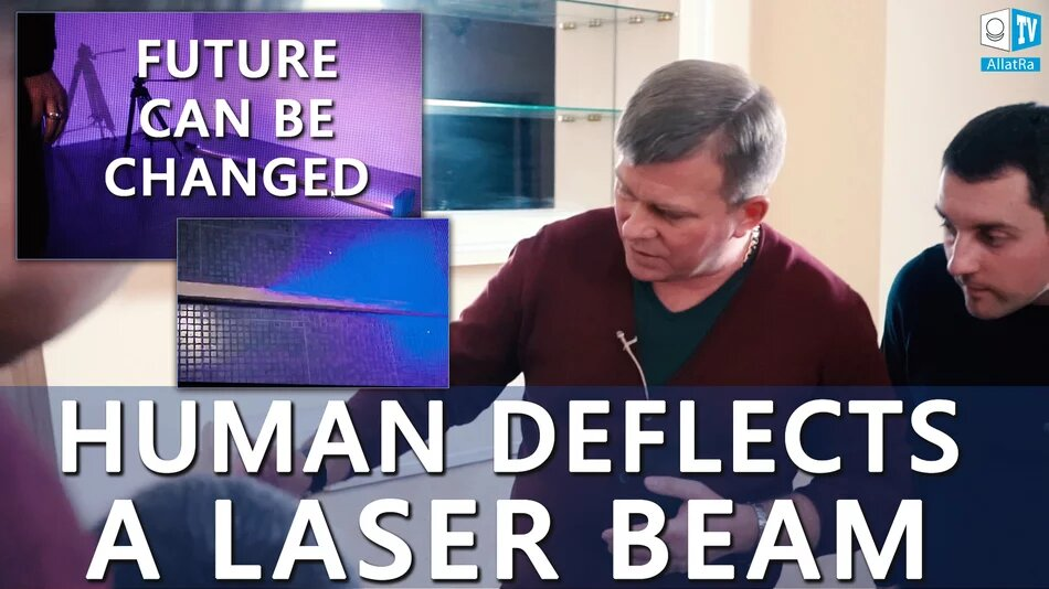 Human DEFLECTS A LASER BEAM! Future CAN BE CHANGED (English Subtitles)