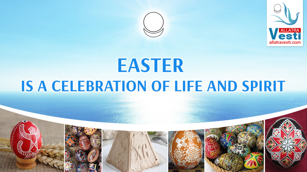 EASTER IS A CELEBRATION OF LIFE AND SPIRIT