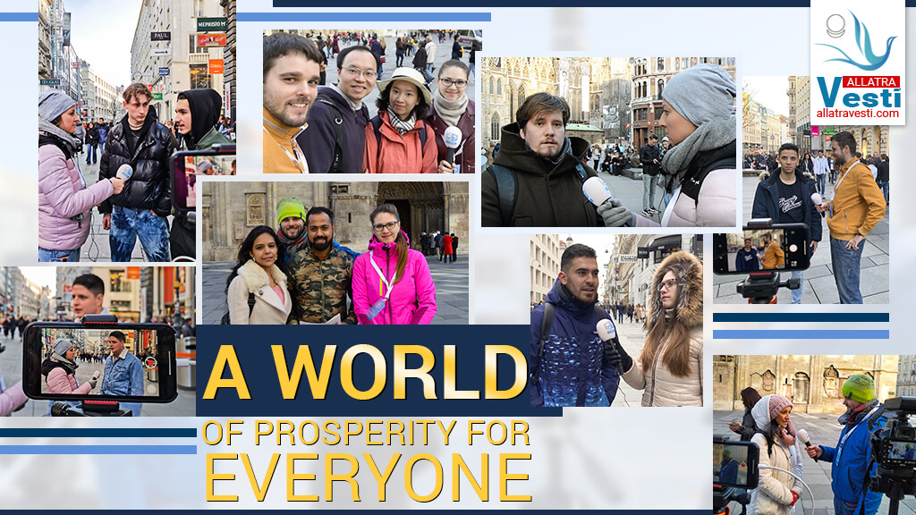A WORLD OF PROSPERITY FOR EVERYONE