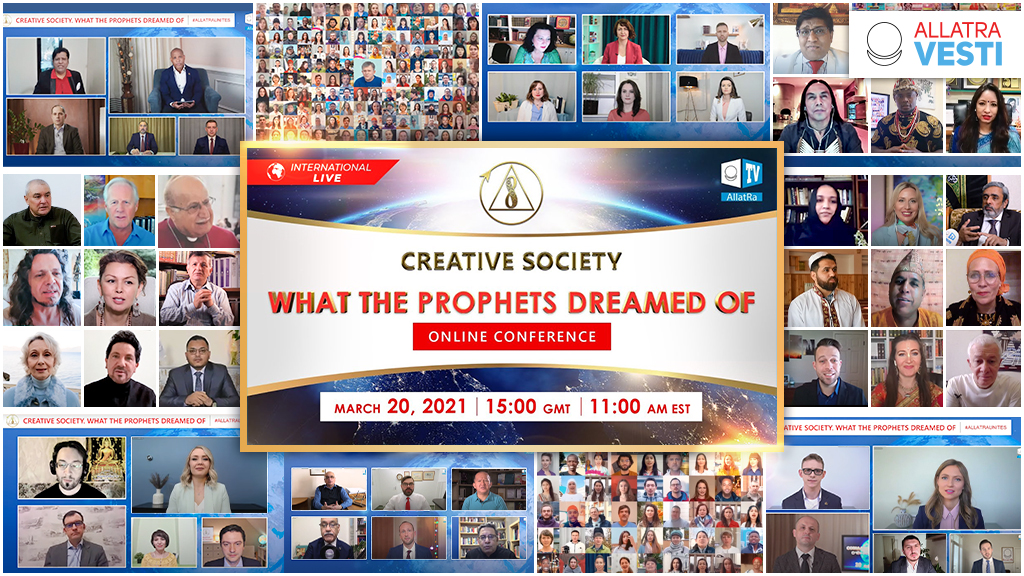 """CONFERENCE """"THE  <mark><b>CREATIVE</b></mark>   <mark><b>SOCIETY</b></mark> . WHAT THE PROPHETS DREAMED OF"""""""