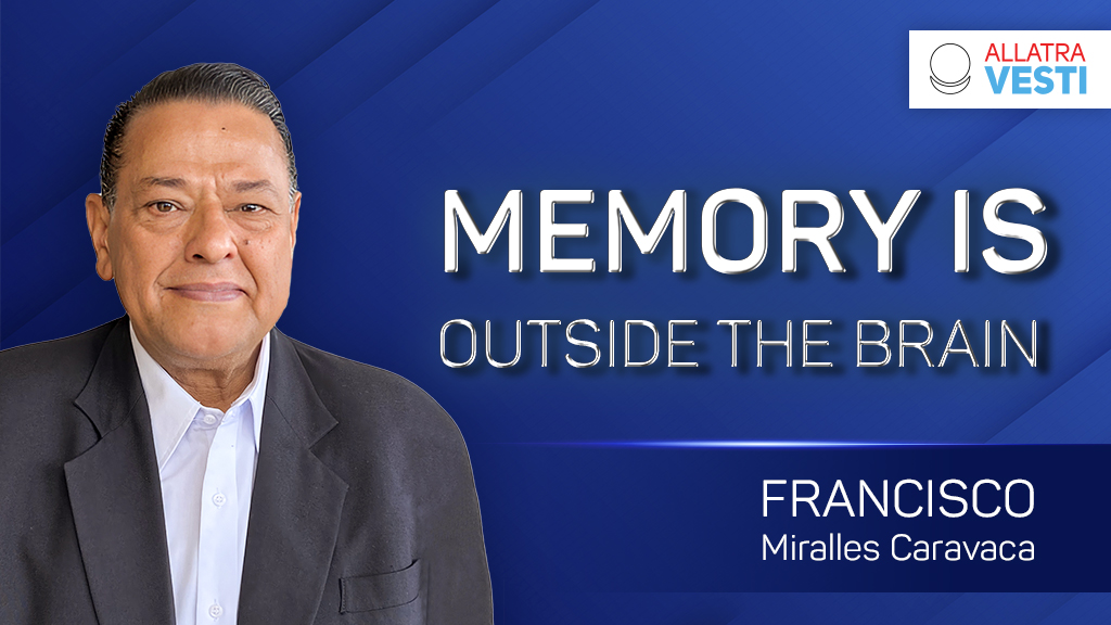 Francisco Miralles Caravaca. Memory is Outside the Brain