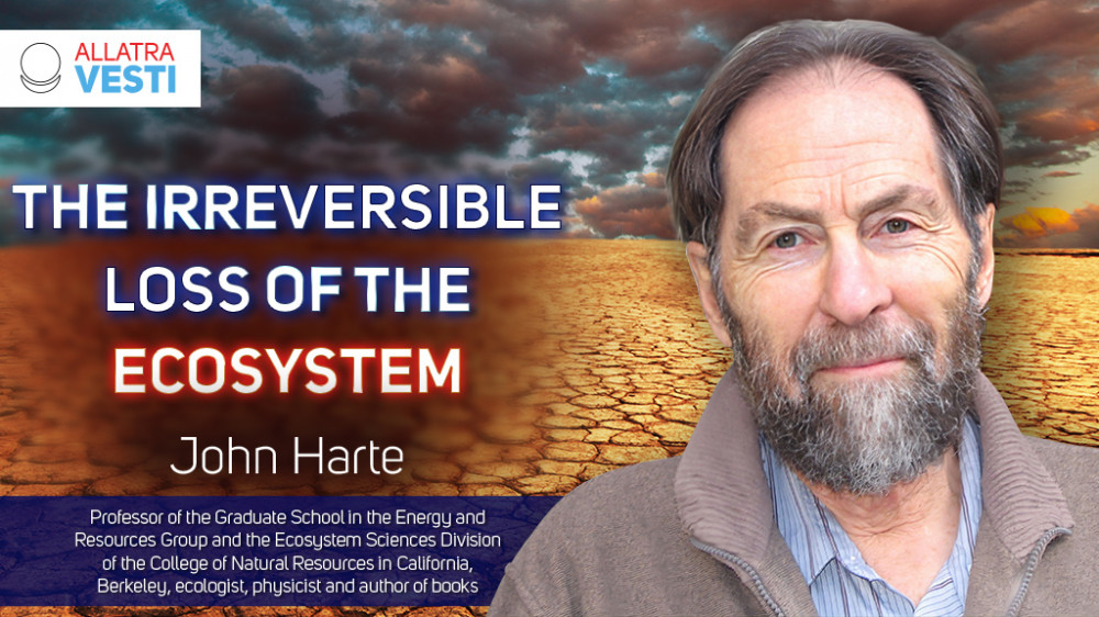 John Harte. A planet on the verge of death