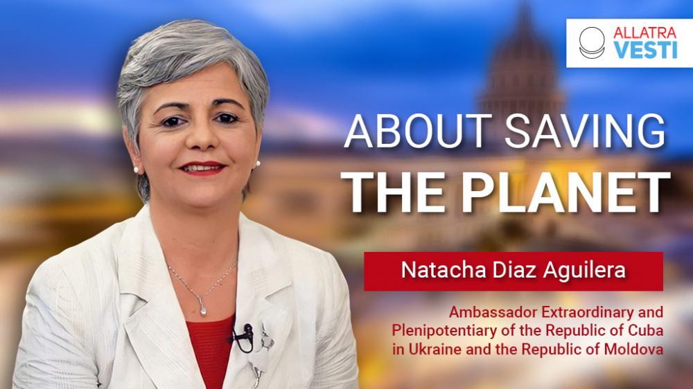 Natacha Diaz Aguilera. About saving the planet