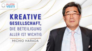 Michio Harada. Kreative Gesellschaft: Beteiligung aller ist wichtig