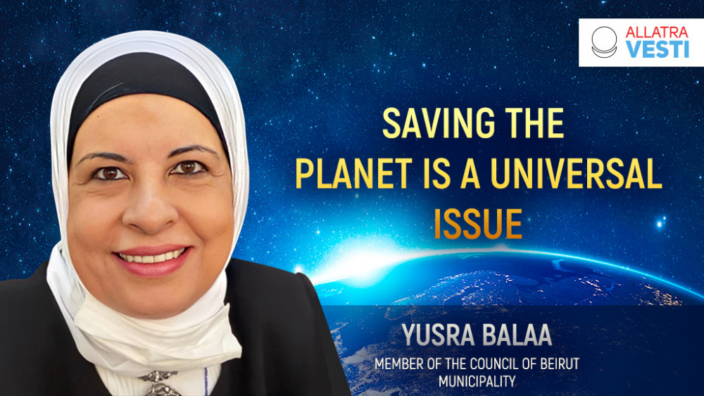 SAVING THE PLANET IS A UNIVERSAL ISSUE