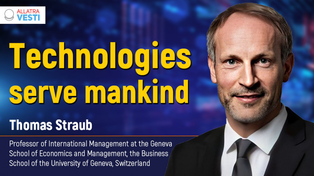 Thomas Straub. Technologies serve mankind