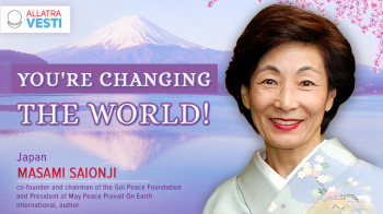 Masami Saionji. You're changing the world!